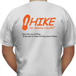HIKE for Mental Health shirts