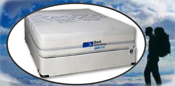 Style 1222 Back Performance MX Gel Cool fort Mattress Set