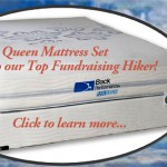 A Queen Mattress Set to our Top Fundraiser