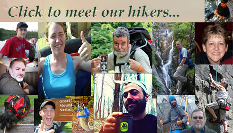 Meet our hikers