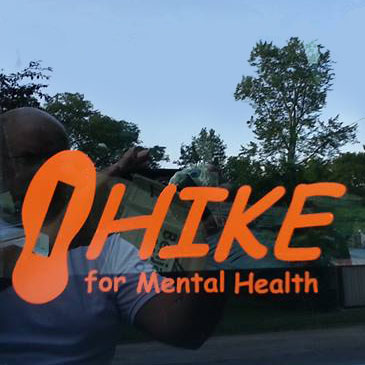 HIKE for Mental Health decal
