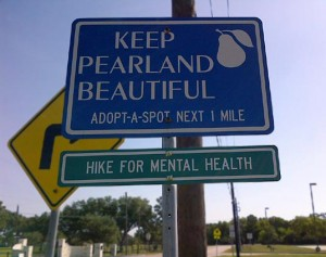 "HIKE for Mental Health helps ""Keep Pearland Beautiful"""