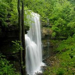 140 foot Virgin Falls