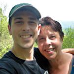 Matt with his mom, Dolly Stevens
