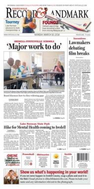 Statesville Record article