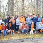 Joanna Davis and the Lake Shore Trail Hikers, March 2014