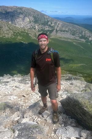 Zach-hiking