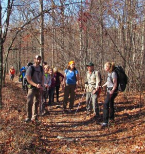 SunfishPond2015-on-the-trail