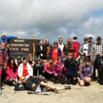 2013 Mt. Washington summit group photo