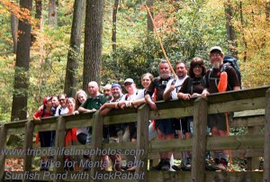 Sunfish-Pond-2013-hikers