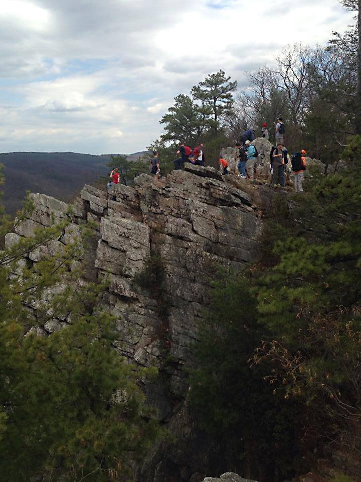 Enjoying-the-views-on-Pole-Steeple-hike