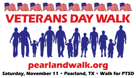 Pearland Veterans Day Walk 2017