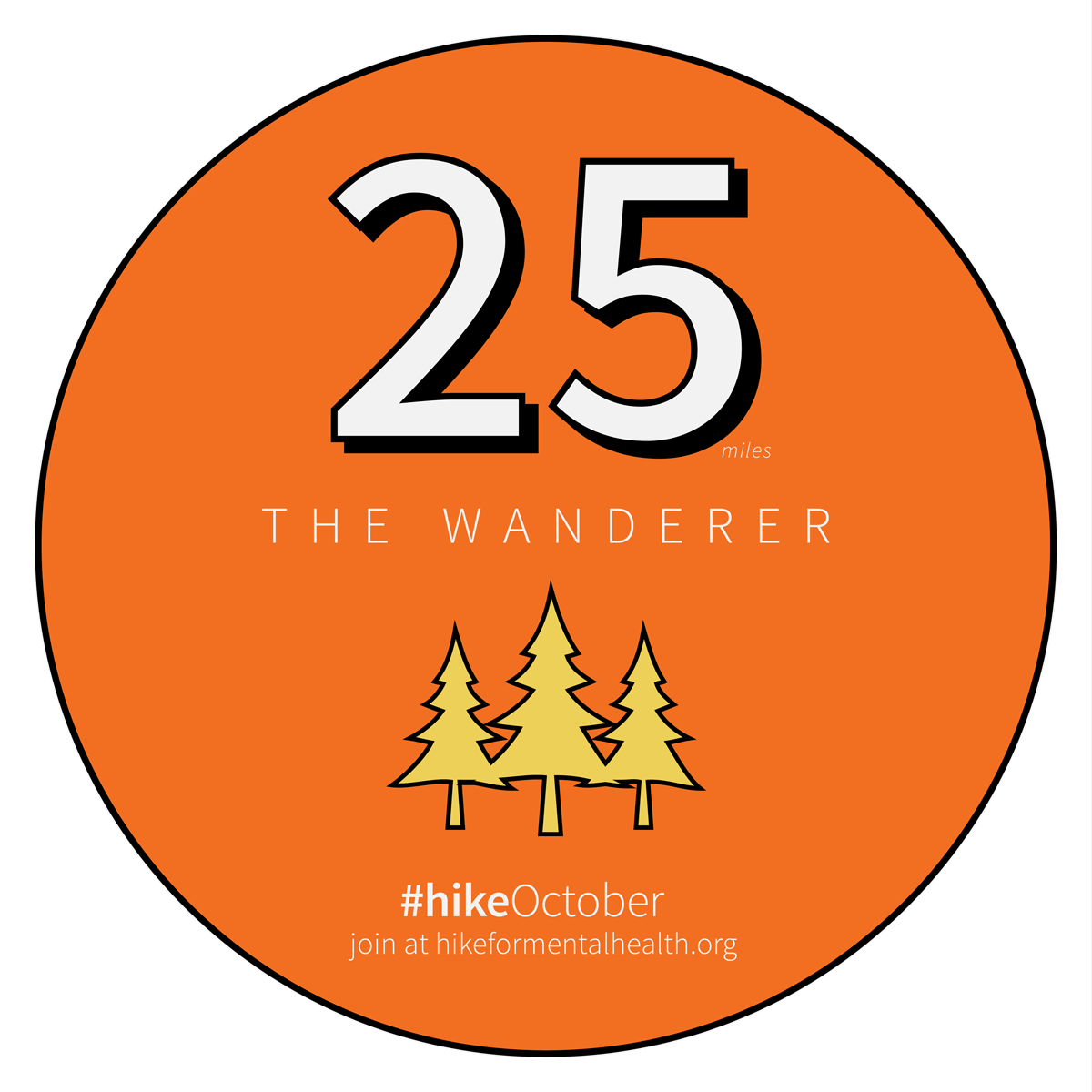 hikeoctober badge